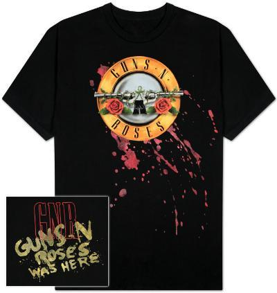 Guns N Roses - Bleeding logo