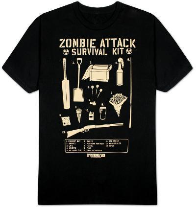 Shaun of the Dead - Zombie Attack Survival Kit