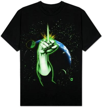 Green Lantern - Fist