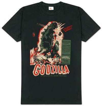 Godzilla - Vintage Poster