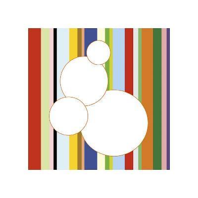 White Bubble on Stripe (detail)