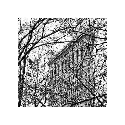 Veiled Flatiron Building (detail)