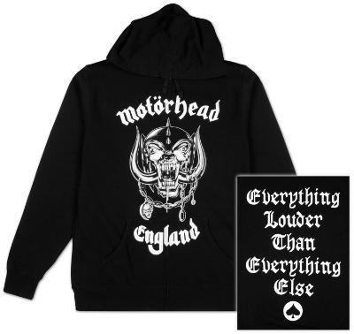 Zip Hoodie: Motorhead - England