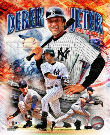 Derek Jeter 2010 Portrait Plus