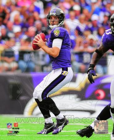 Joe Flacco 2010 Action