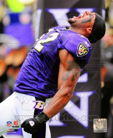 NFL Ray Lewis 2010 Action