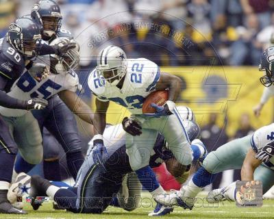 Emmitt Smith All-Time Rushing Yard Leader - #1 Action