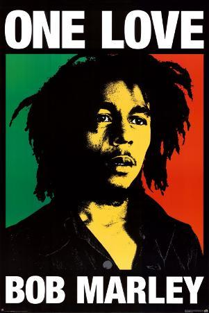 Bob Marley - One Love Giant Poster