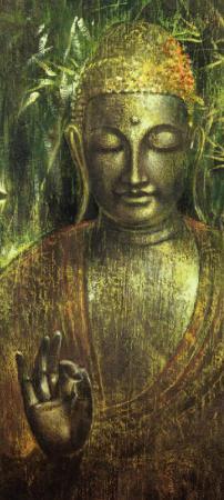 Buddha in Green l