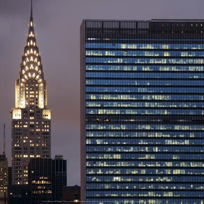 Chrysler and UN Buildings