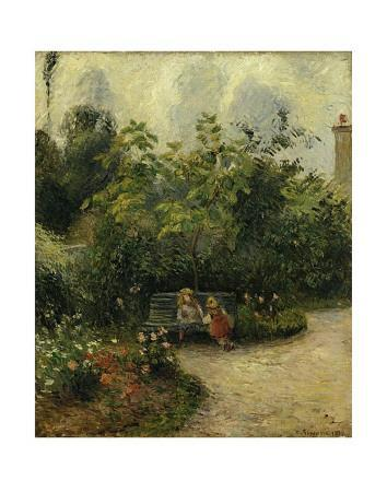 Corner of a Garden at the Hermitage, c.1877