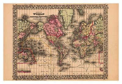 Map of the World, c.1867