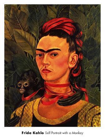 Self-Portrait with Monkey, c.1940
