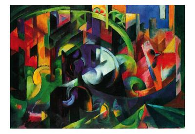 Abstract with Cattle