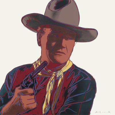 Cowboys and Indians: John Wayne 201/250, 1986