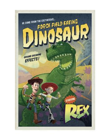 Force Field Eating Dinosaur