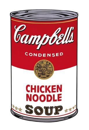 Campbell's Soup I: Chicken Noodle, c.1968