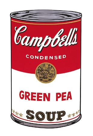 Campbell's Soup I: Green Pea, c.1968