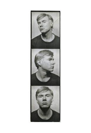 Self-Portrait, c.1964 (photobooth pictures)