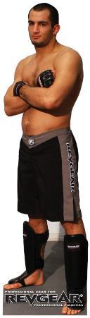 MMA Fighters - Mousasi Lifesize Standup