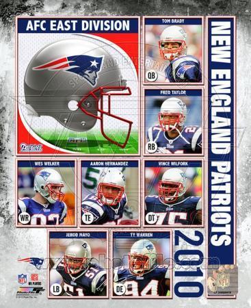 2010 New England Patriots Team Composite