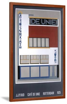 Favoriete Cafe De Unie, Rotterdam Posters by JJP Oud at AllPosters.com @KW13