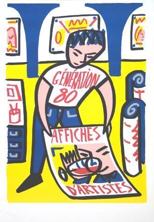 Affiche D'artiste