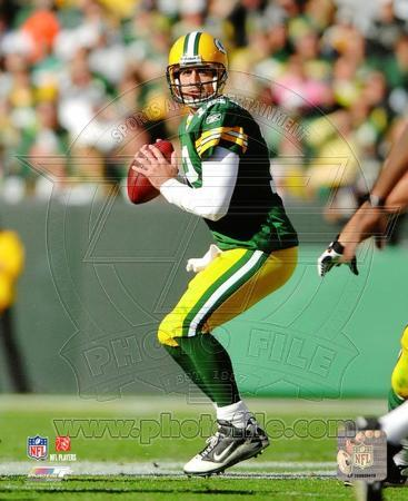 NFL Aaron Rodgers 2010 Action