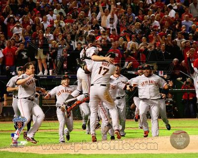 The San Francisco Giants Team Celebration Game Five of the 2010 World Series