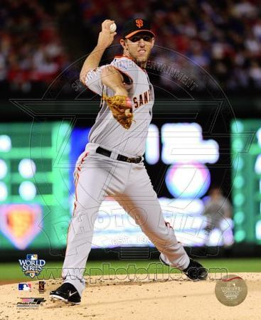 Madison Bumgarner Game Four of the 2010 World Series Action