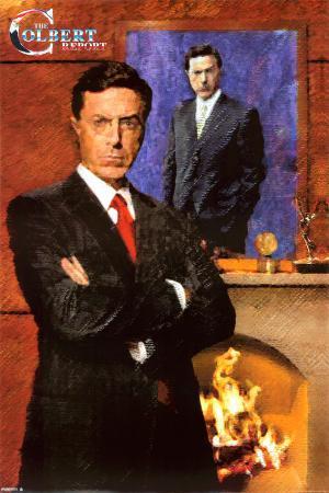 Colbert Report - Painting