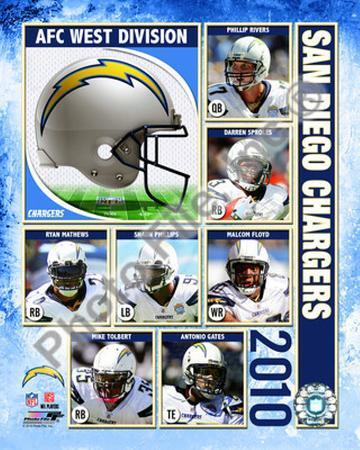 2010 San Diego Chargers Team Composite