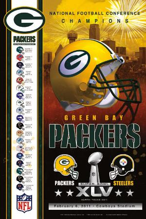 NFC Champs 2011 - Packers