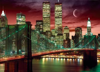 NEW YORK - Skyline Colour, 3-D Poster