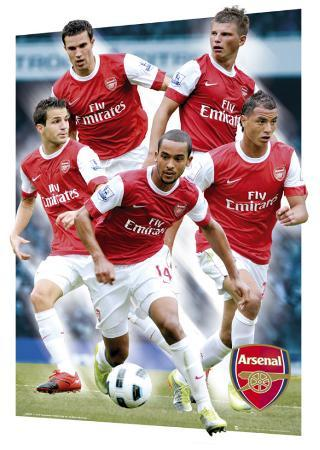 ARSENAL - Players 10/11, 3-D Poster