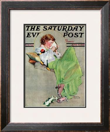 """Diary"" Saturday Evening Post Cover, June 17,1933"