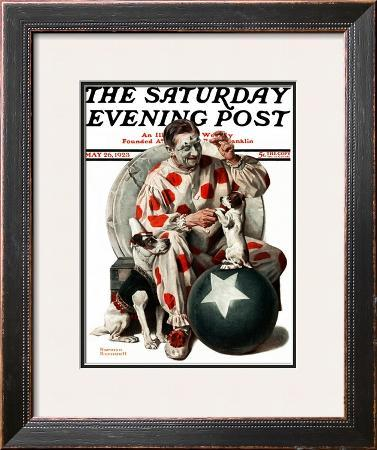 """Between the Acts"" Saturday Evening Post Cover, May 26,1923"