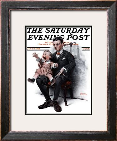 """Portrait"" Saturday Evening Post Cover, July 9,1921"