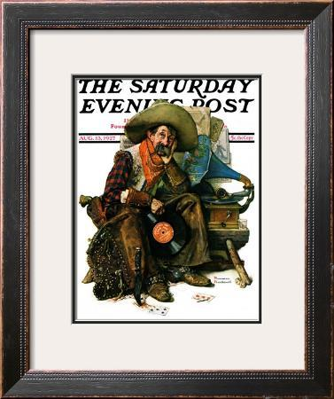 """Dreams of Long Ago"" Saturday Evening Post Cover, August 13,1927"