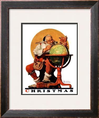 """Santa at the Globe"", December 4,1926"
