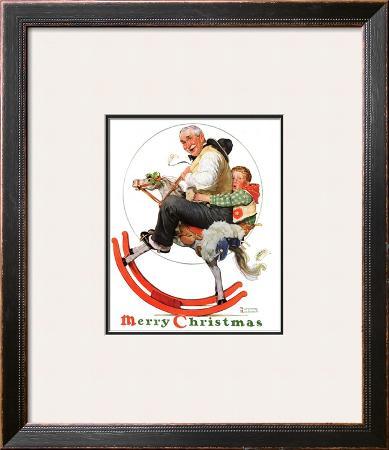 """""""Gramps on Rocking Horse"""", December 16,1933"""