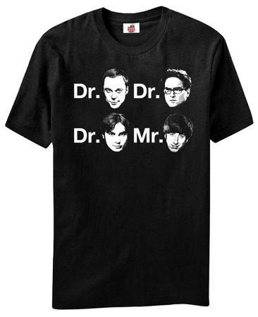 Big Bang Theory - Dr. & Mr. Faces