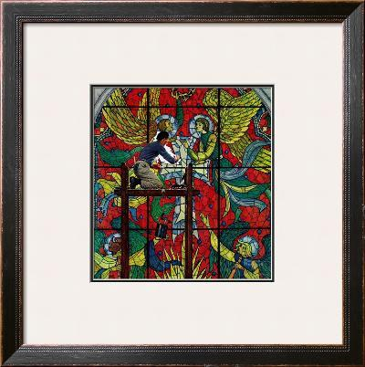 """""""Repairing Stained Glass"""", April 16,1960"""
