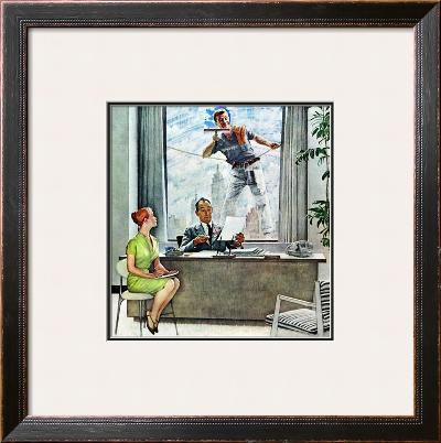 """Window Washer"", September 17,1960"