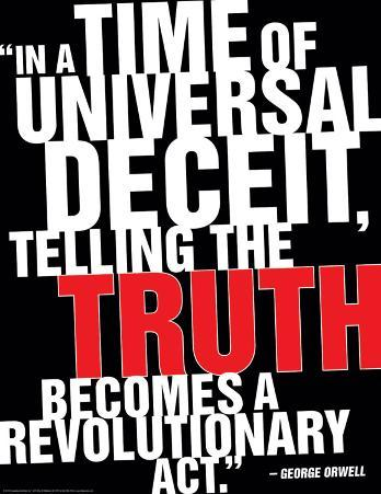 Truth, Orwell