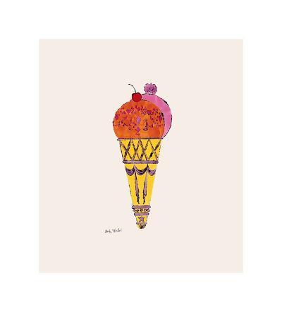 Ice Cream Dessert, c.1959 (Red and Pink)