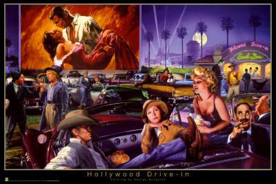 Hollywood Drive-In - George Bungarda
