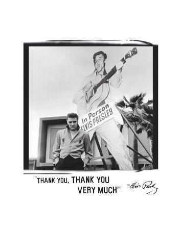Elvis: Thank You