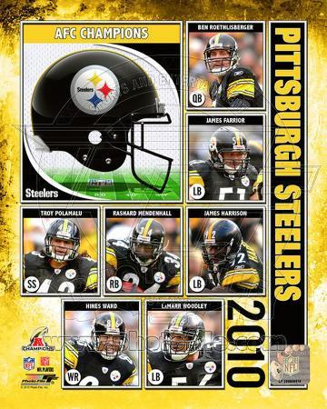Pittsburgh Steelers 2010 AFC Championship Composite