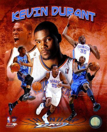 Kevin Durant 2011 Portrait Plus